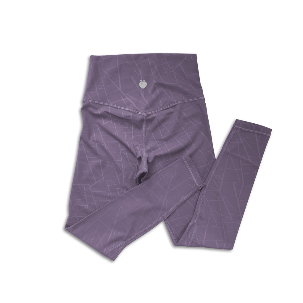 Bare Classic 7/8 Pant - Grape Geometric