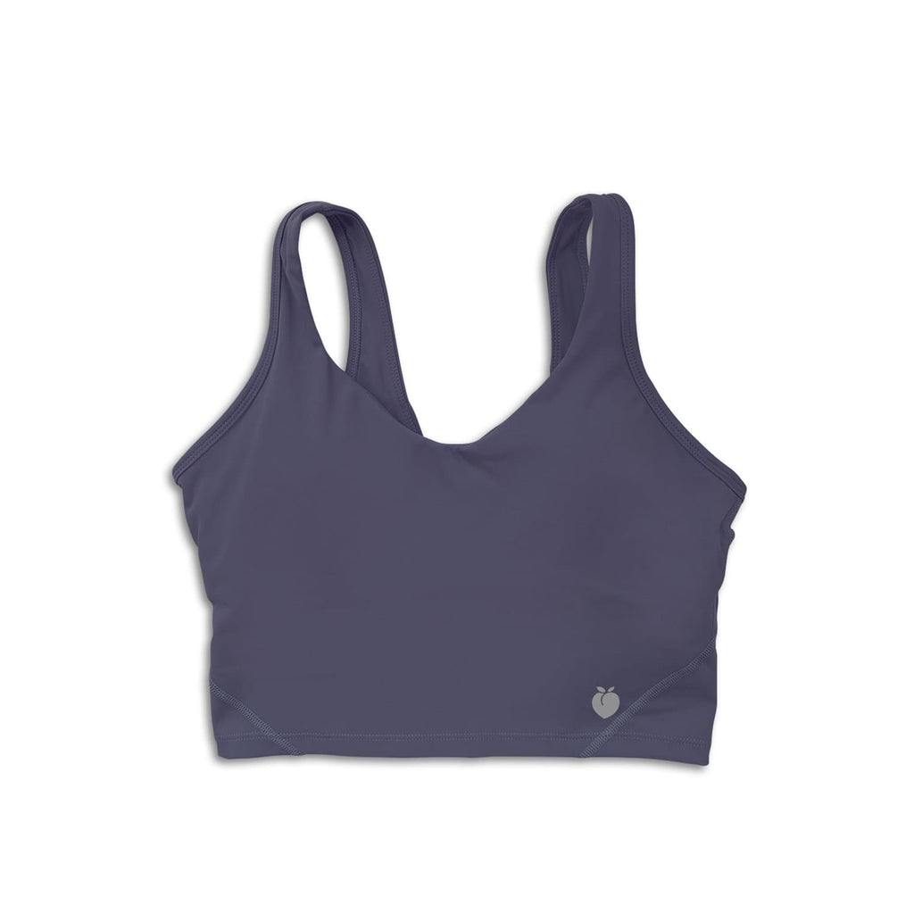 Sleek Crop Tank - Navy