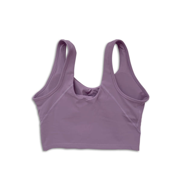 Sleek Crop Tank - Lavender