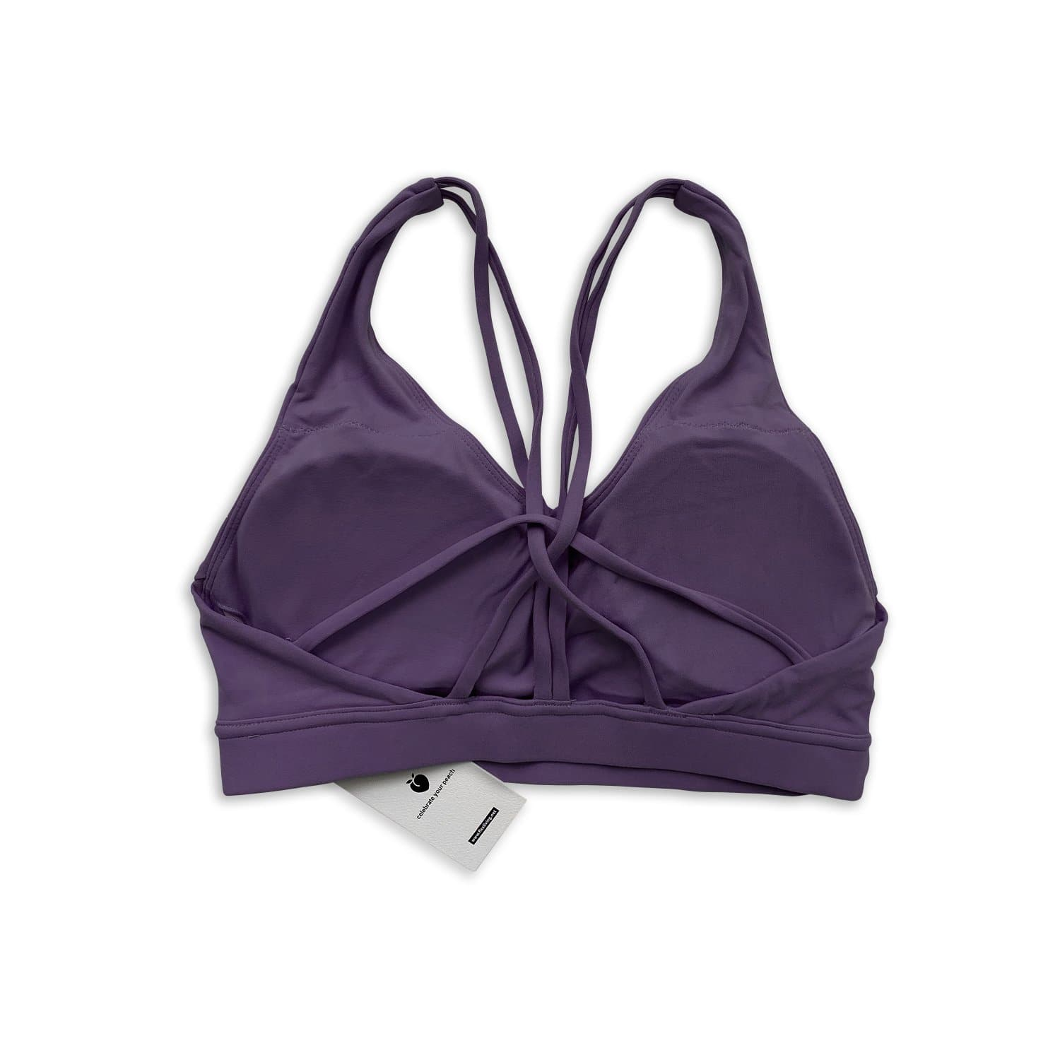 Twisty Bra - Violet