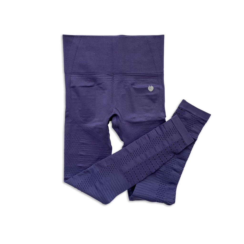 Ribbed Seamless Pant - Violet
