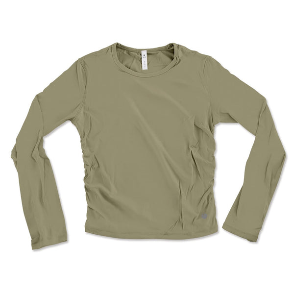Long Sleeve Active Tee - Army Green