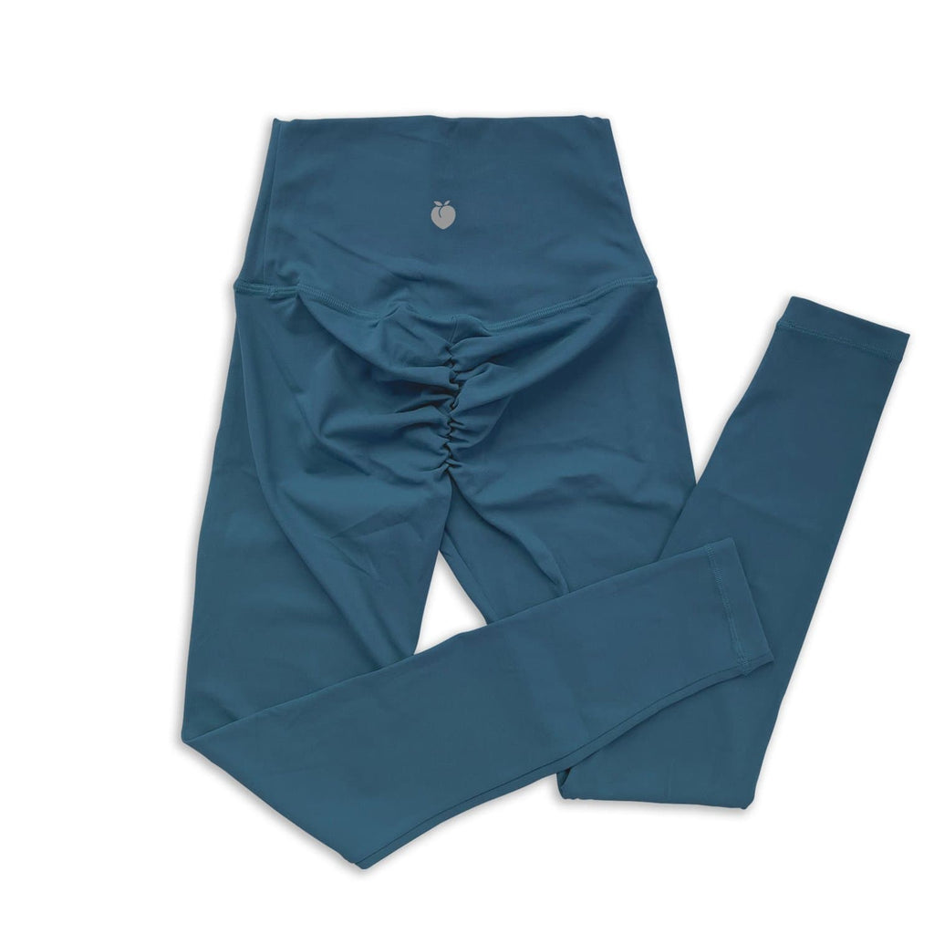 Scrunch Full Length Pant - Deep Teal