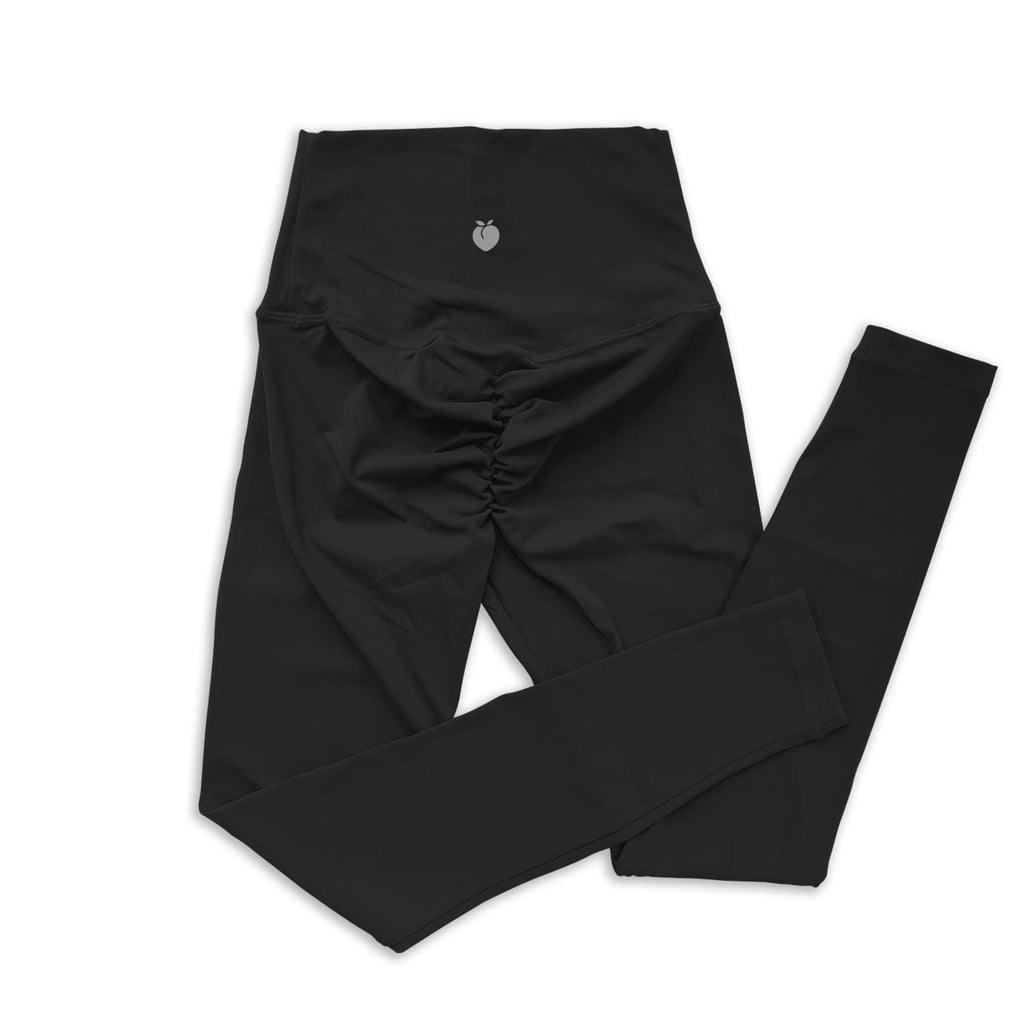 Scrunch Full Length Pant - Black
