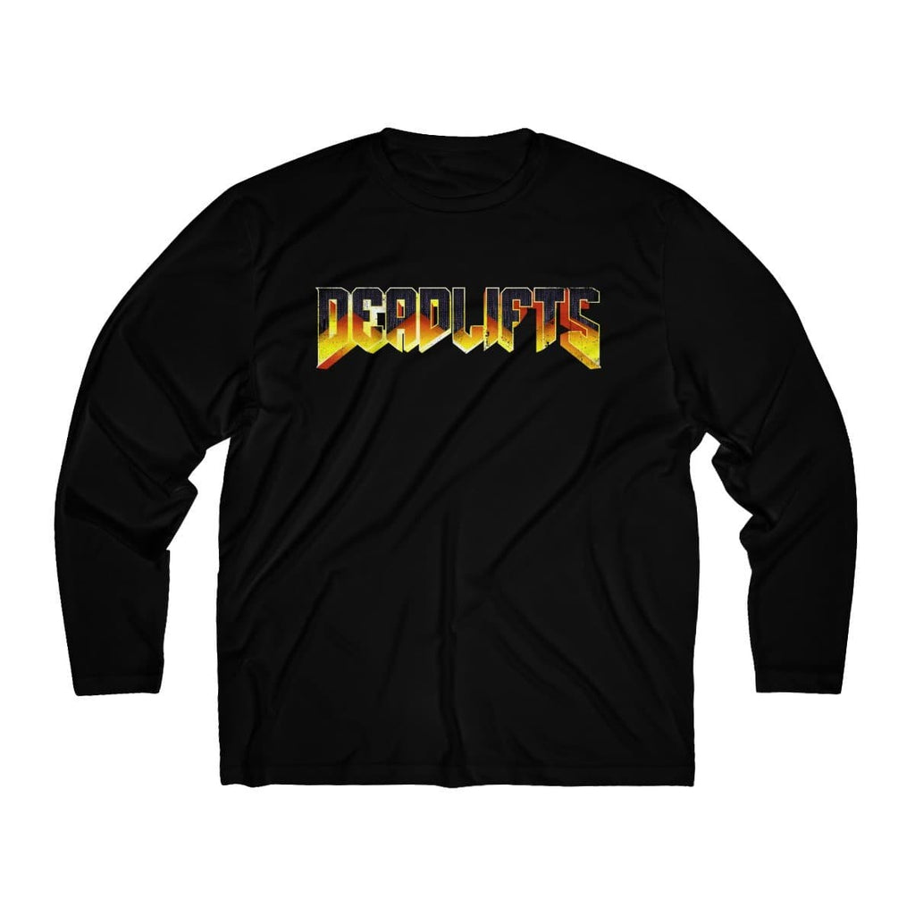 DEADLIFTS Men's Long Sleeve Moisture Absorbing Tee