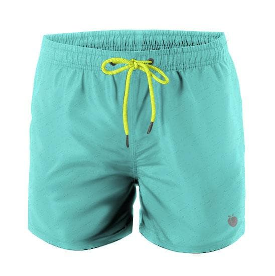 Men's Swim Trunks - Aqua