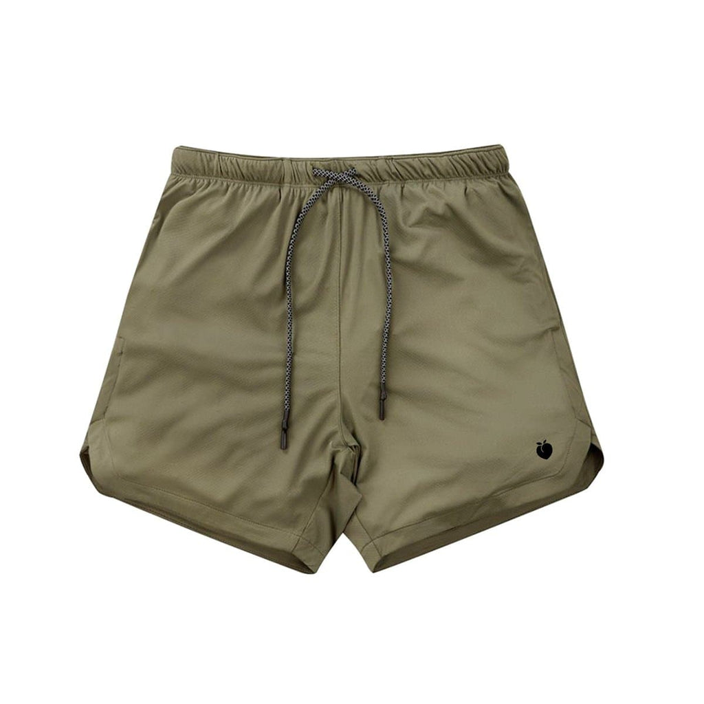 Men's Linerless Active Shorts - Army Green