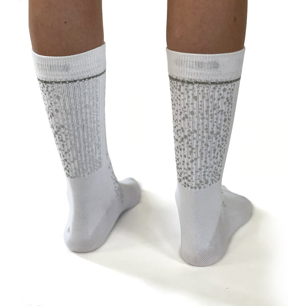 Reflective Socks - White