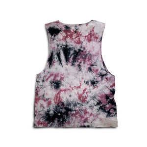 Men's Tie-Dye Muscle Tank - Shadow