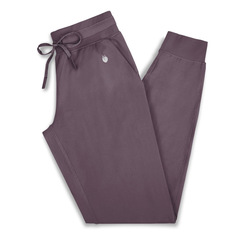 Women's Joggers - Black Plum