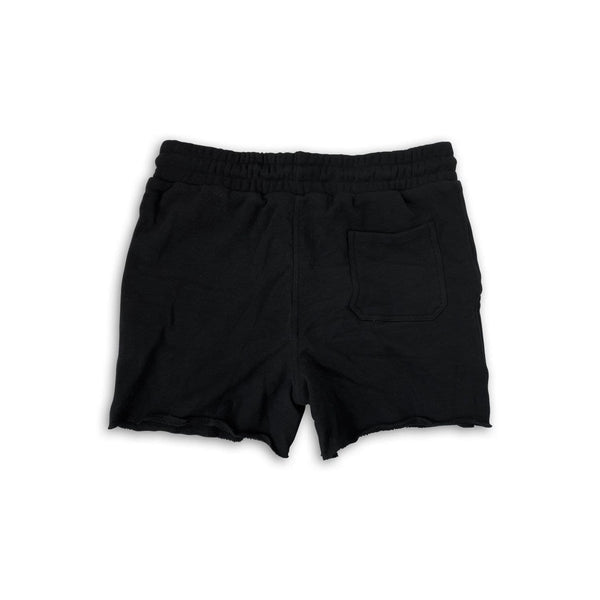 Men's Casual Quad Shorts (Heavy French Terry) - Black