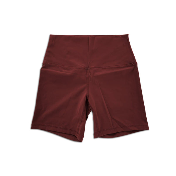 Midi Shorts - Burgandy