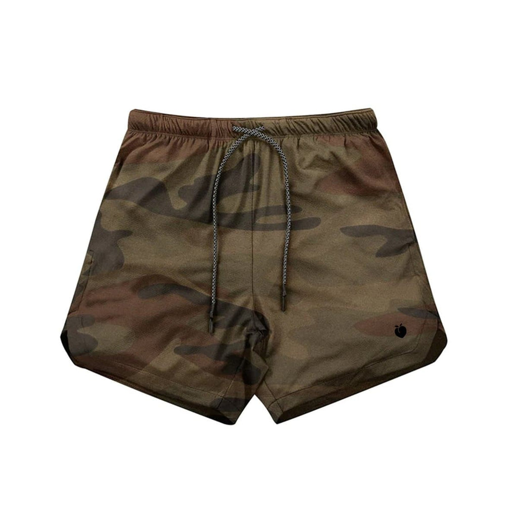 Men's Linerless Active Shorts - Camo