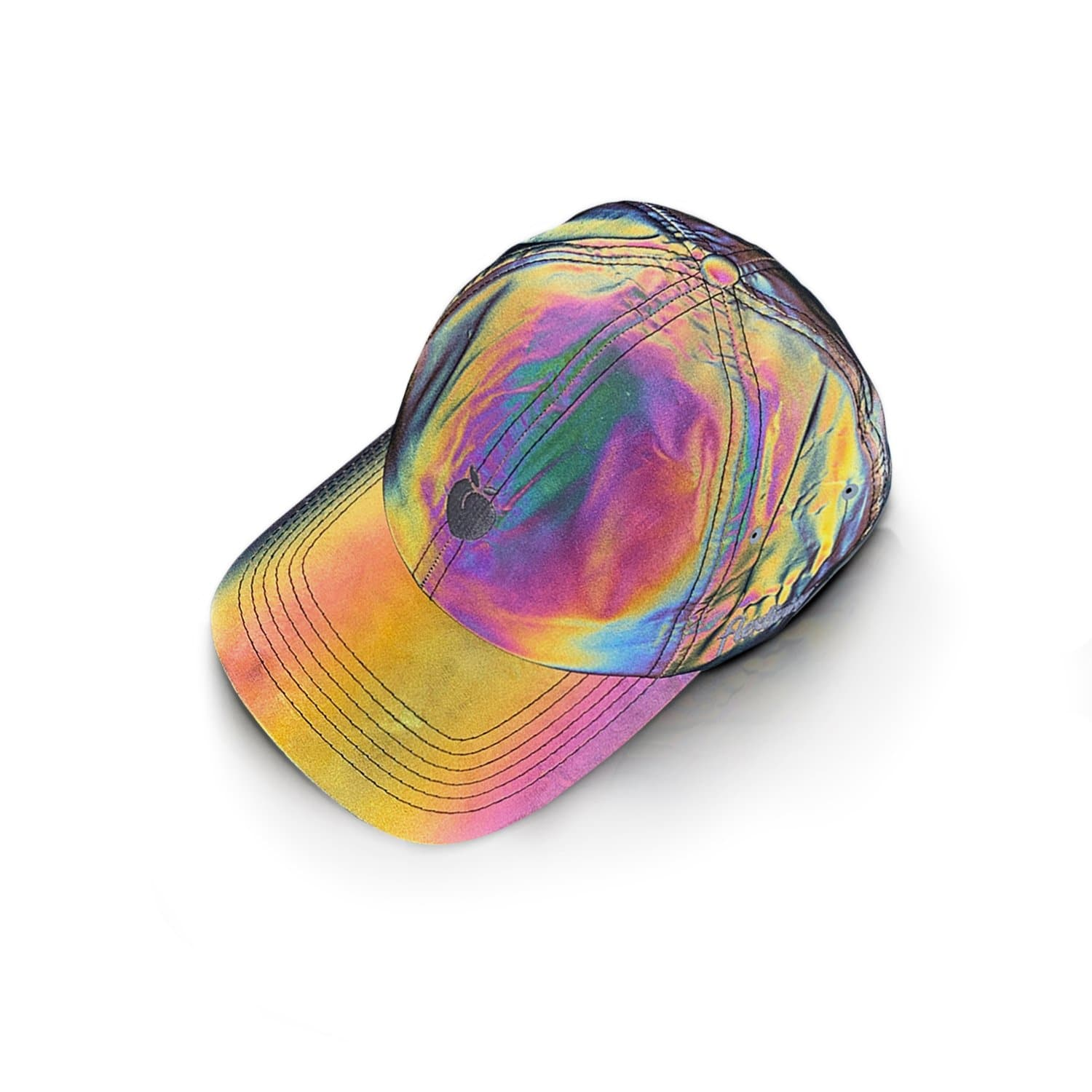 Rainbow Reflective Dad Hat