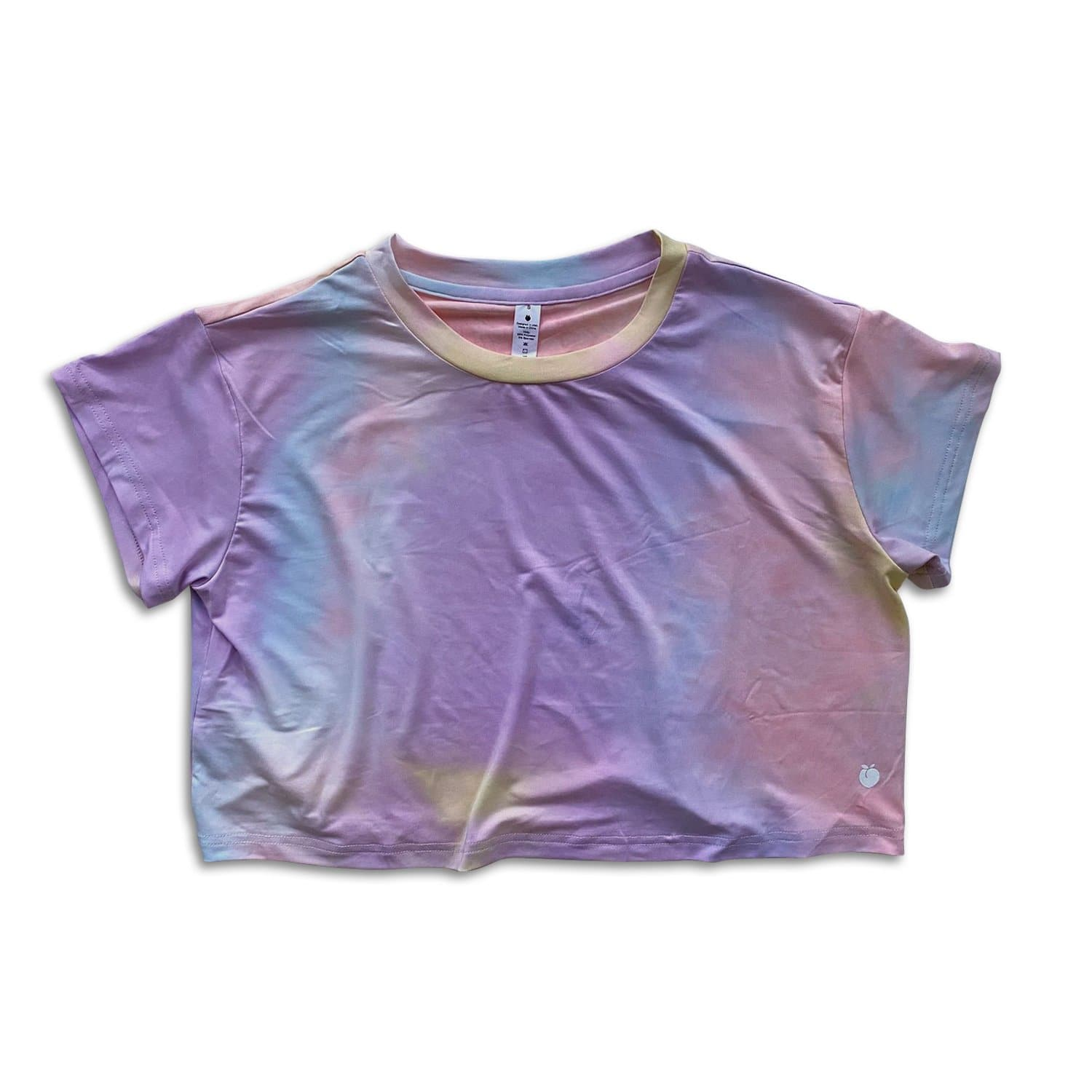 Tie-Dye Crop Tee - Cotton Candy
