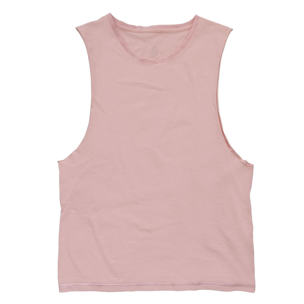 Men's Muscle Tank - Light Peach
