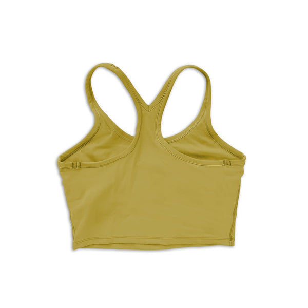 Alive Crop Tank - Golden