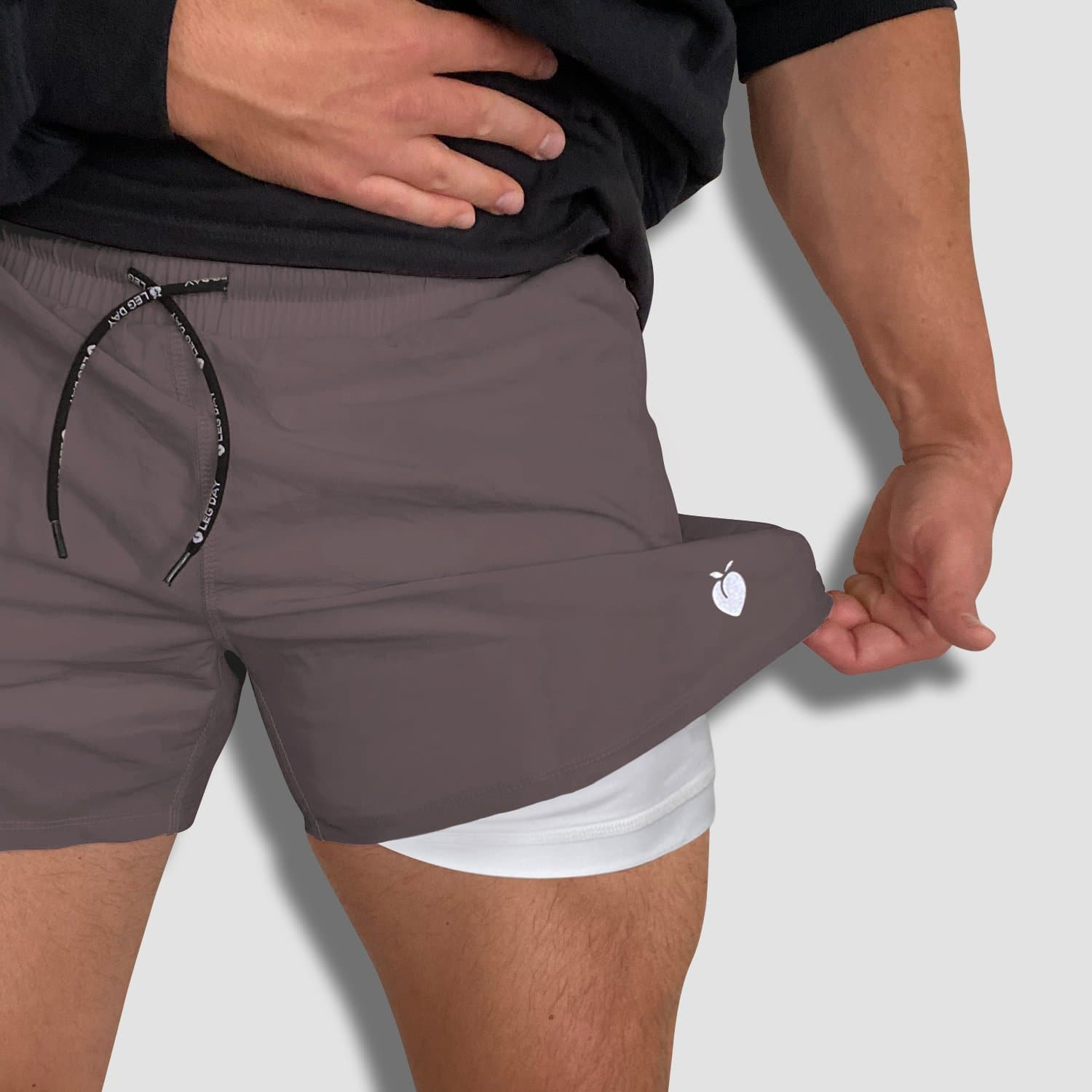 Men's Active Liner Shorts 2.0 - Gray