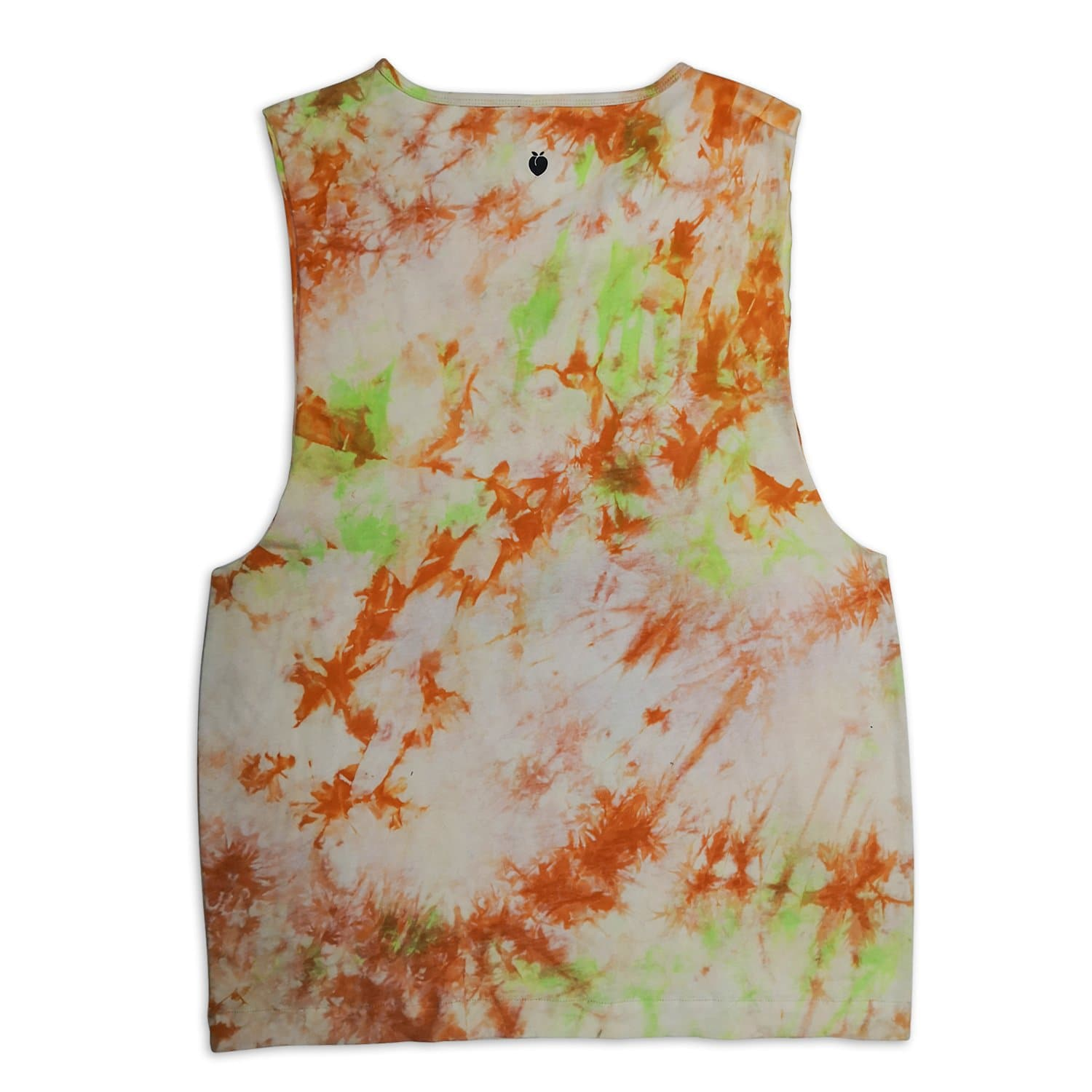 Men's Tie-Dye Muscle Tank - Forest