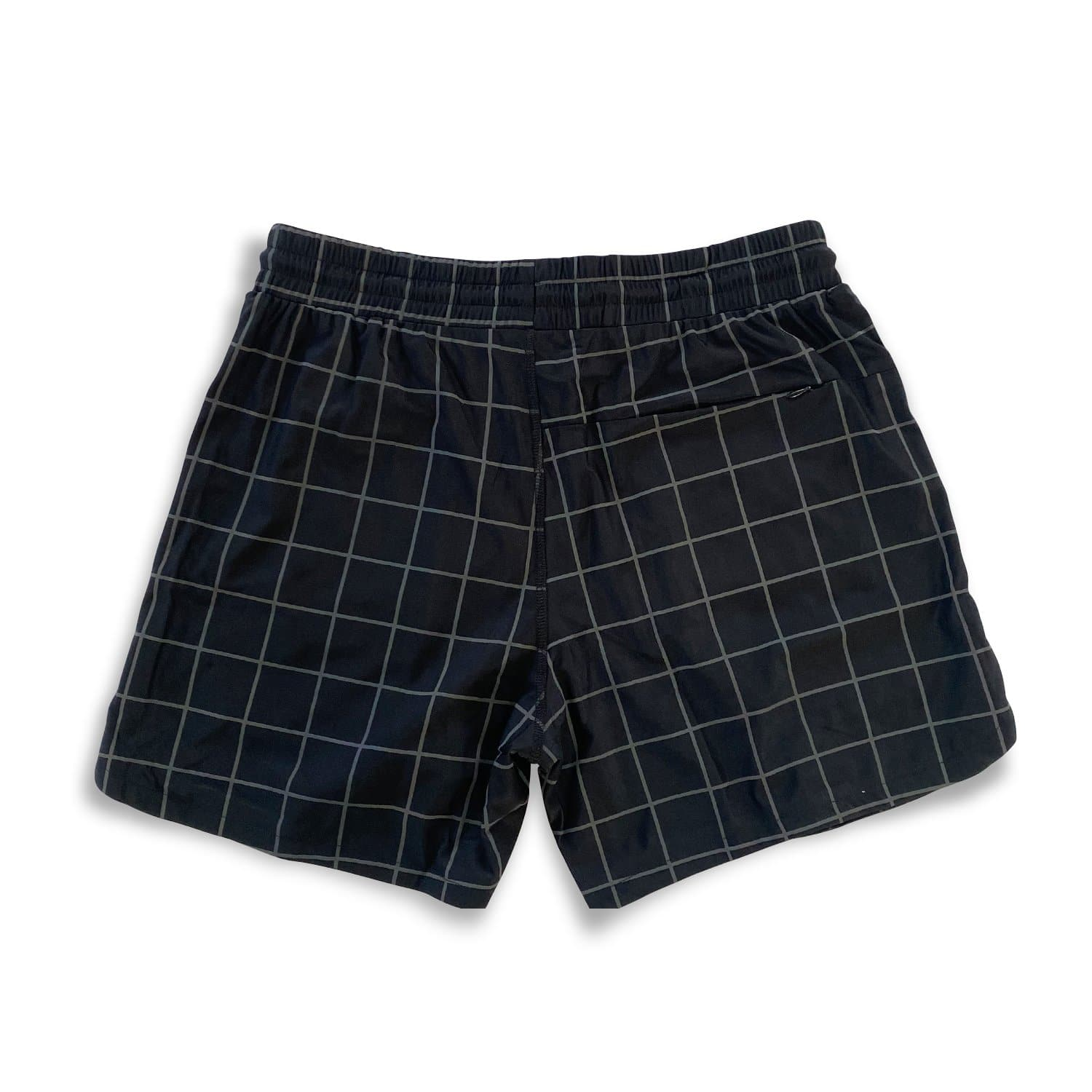 "Men's Active Linerless Shorts 5"" - GRID Reflective"