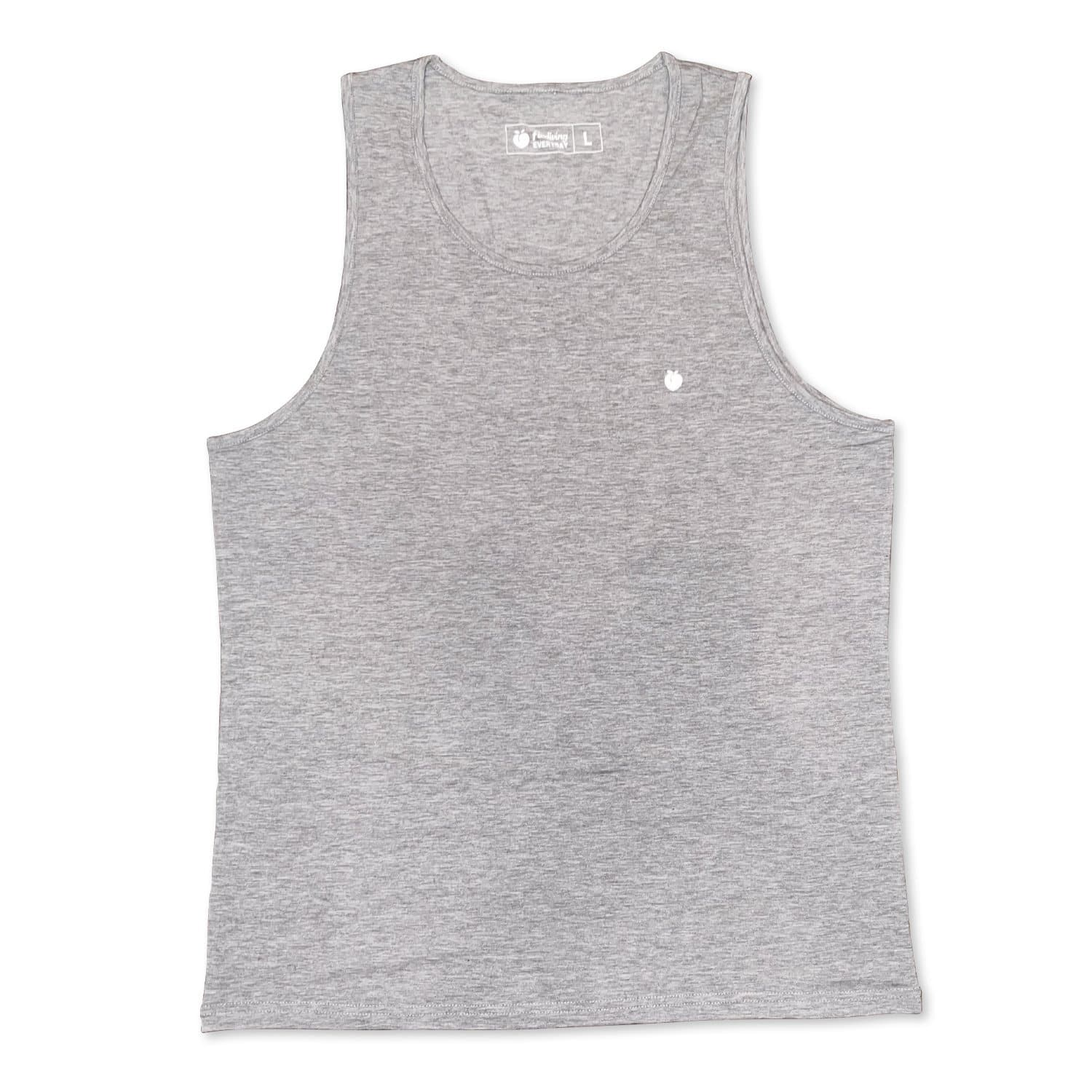 Men's EVERYDAY Basic Tank Top - Heather Gray