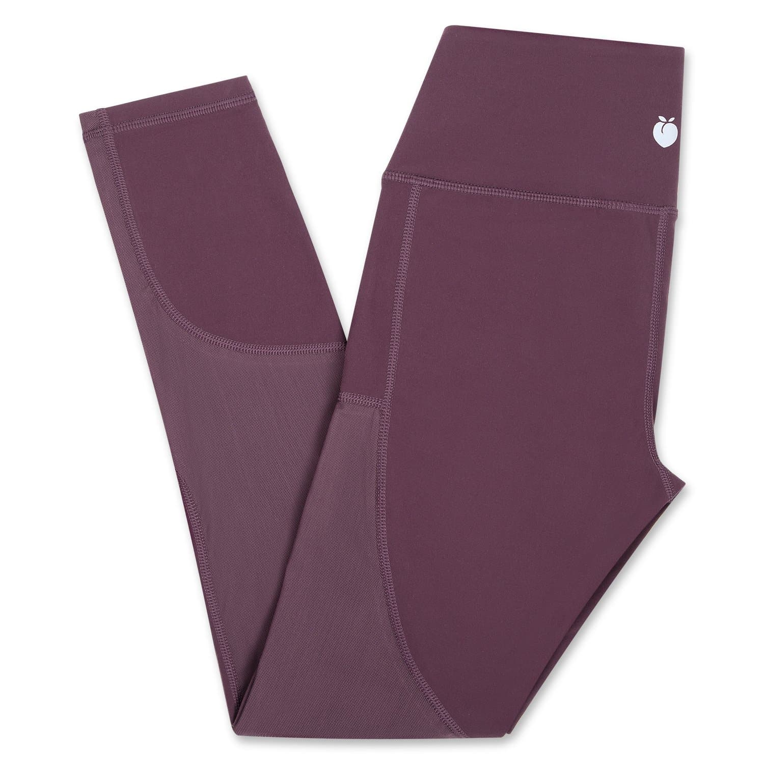 Peep Mesh Pant - Dark Purple