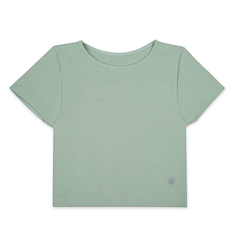 Performance Crop Tee - Fern