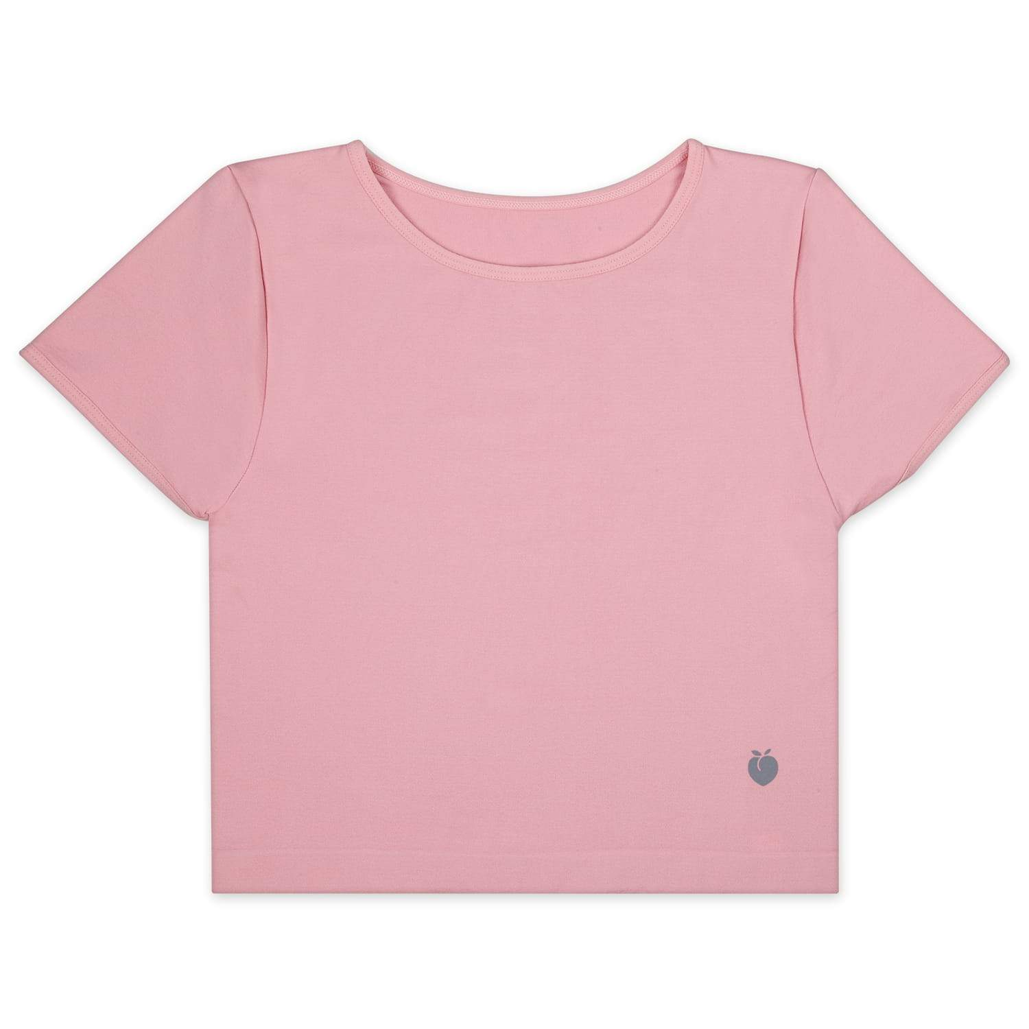 Performance Crop Tee - Rose