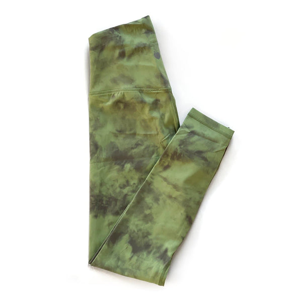 Bare Classic 7/8 Pant - Moss Tie Dye