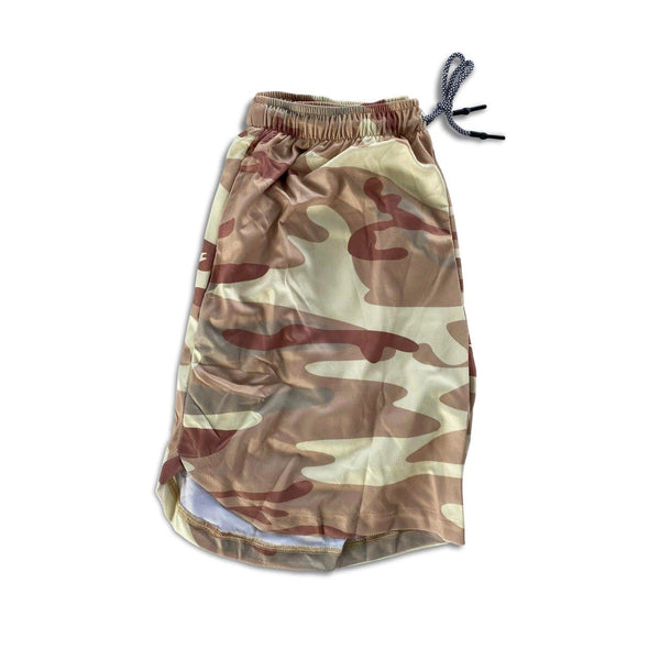 Men's Linerless Active Shorts - Light Camo