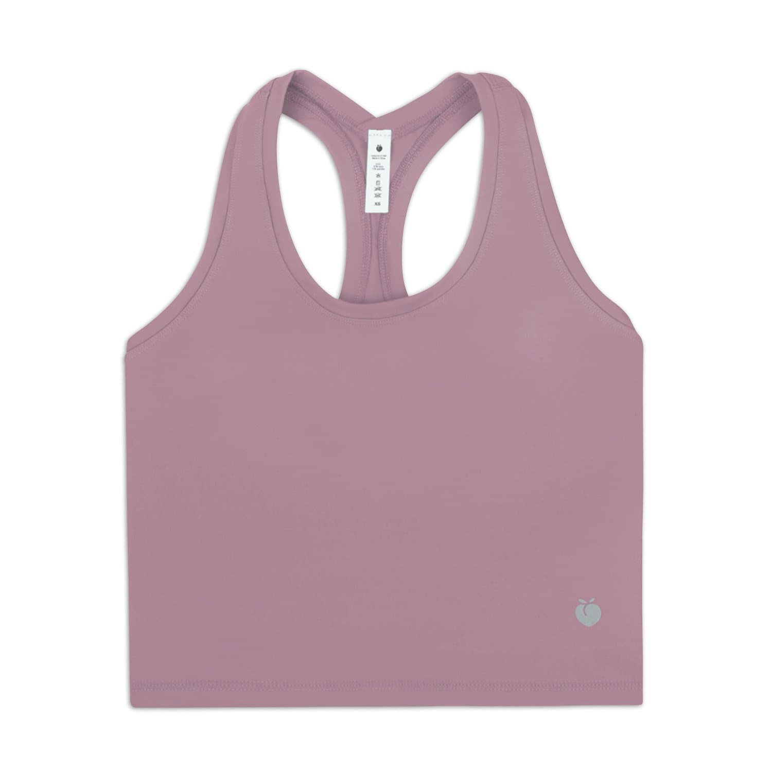 Rush Crop Tank - Pewter