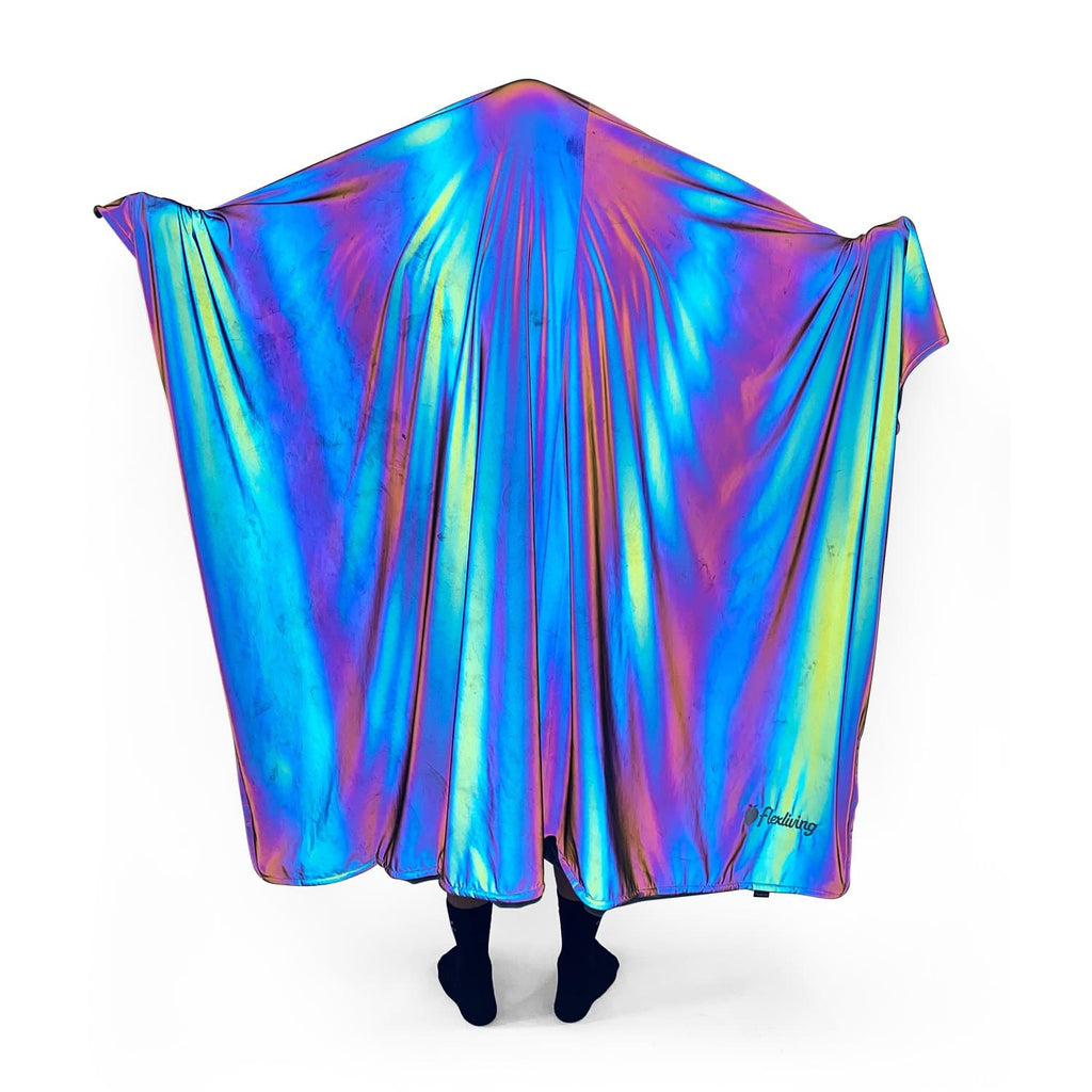 Heavyweight Throw Blanket - Rainbow REFLECTIVE