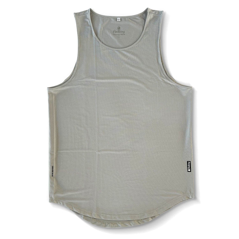 Men's Silver-Tech Tank - Gray