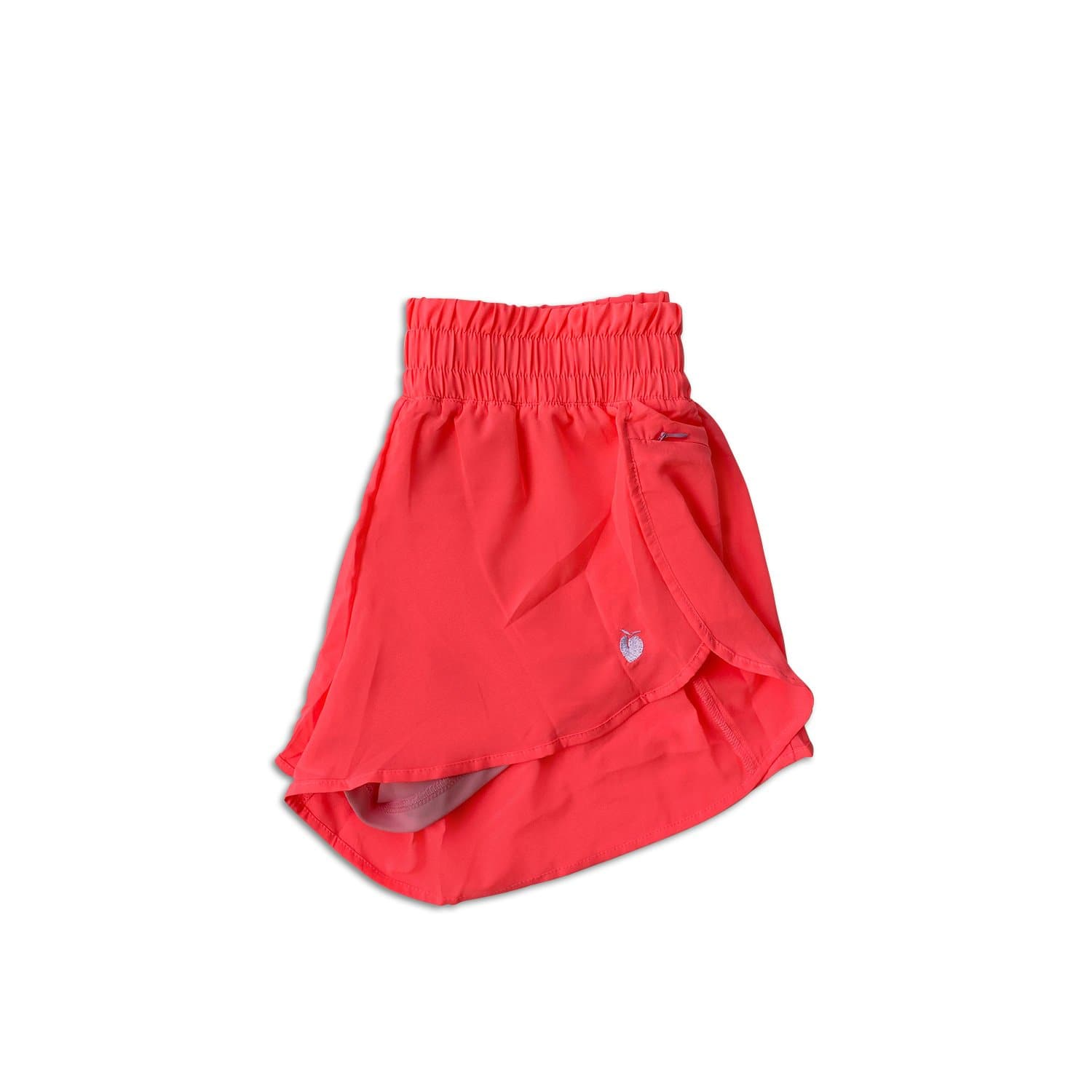 Women's Liner Track Shorts - Hot Pink