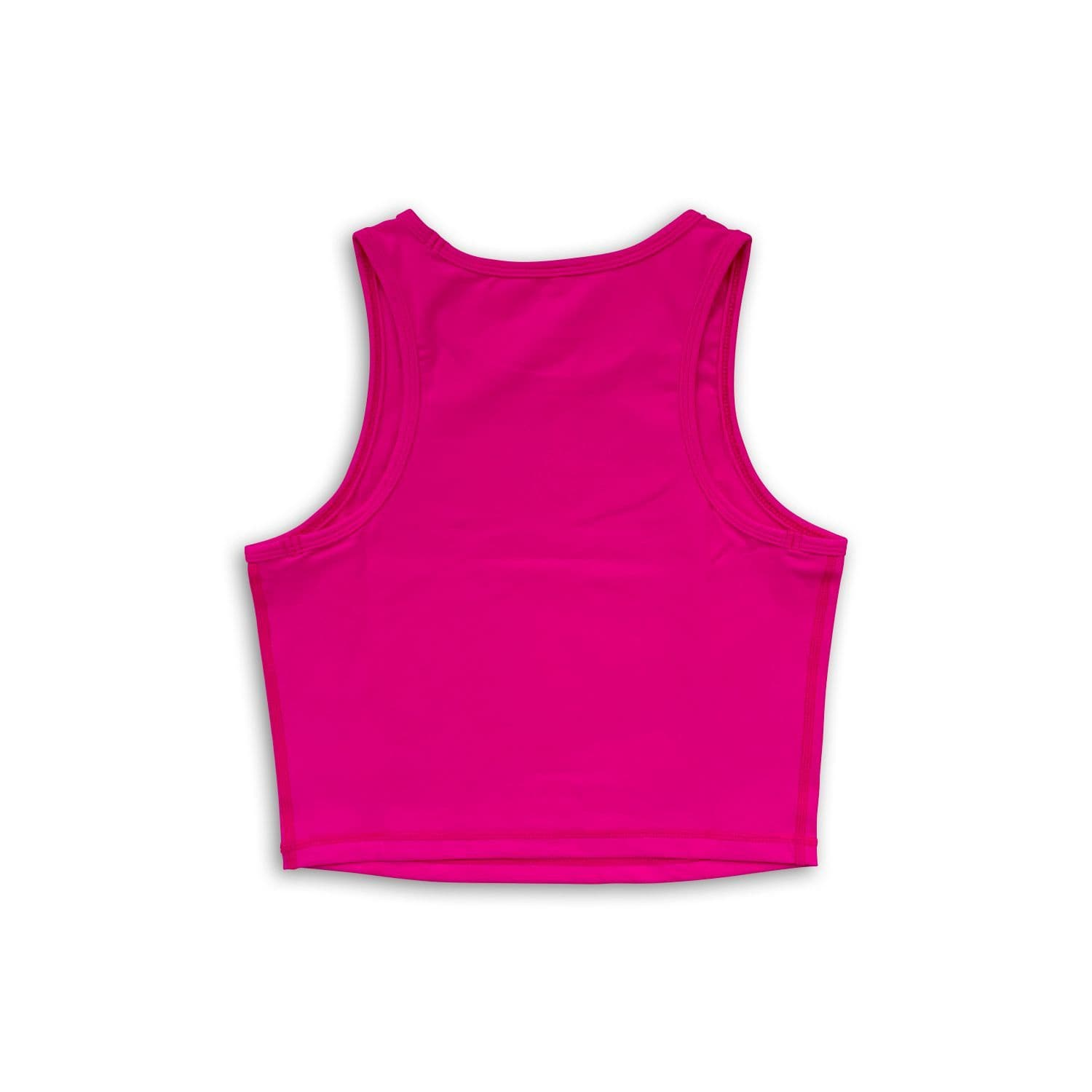 Racerback Crop Top - Hot Pink