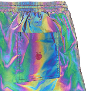 Men's Swim Trunks - Rainbow REFLECTIVE