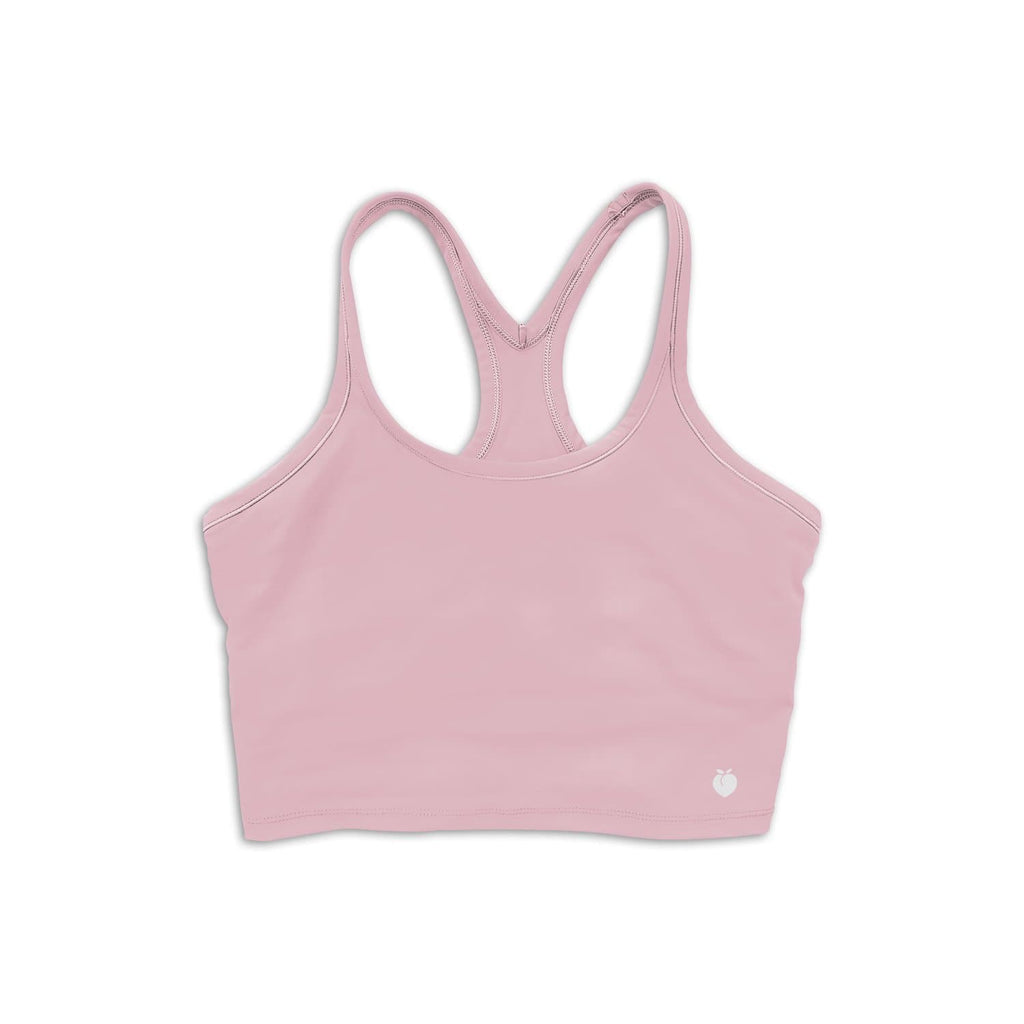 Alive Crop Tank - Baby Pink