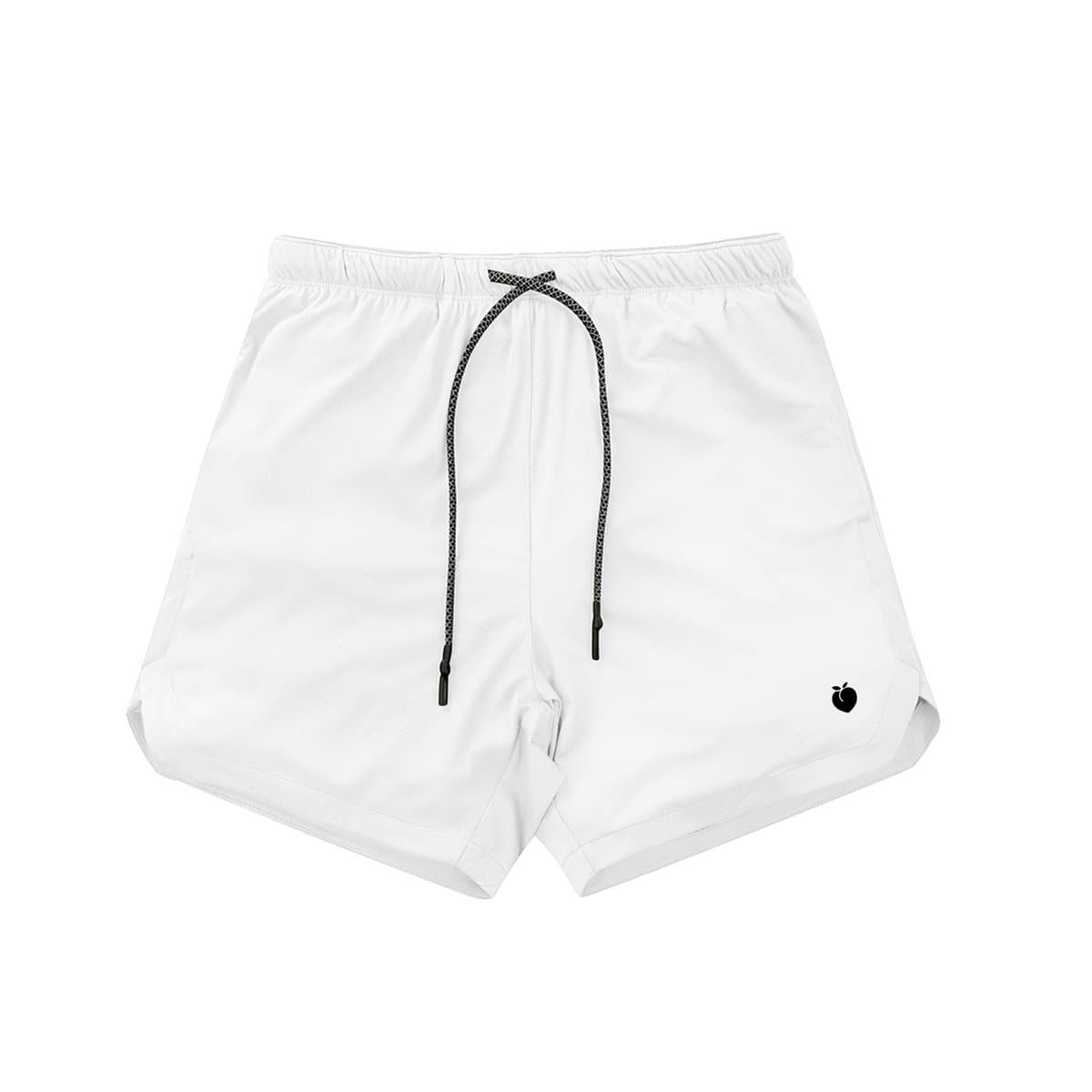 Men's Linerless Active Shorts - White