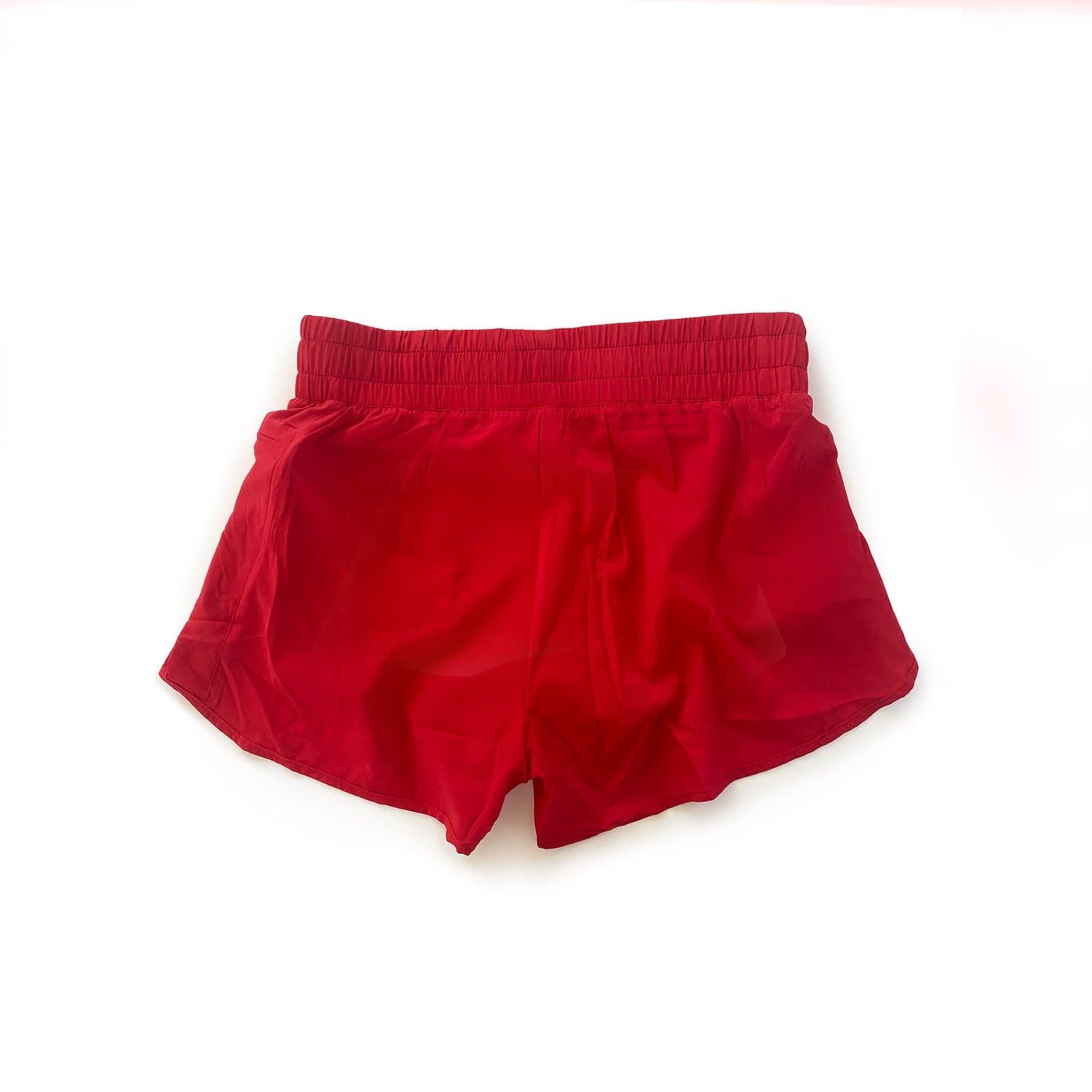 Women's Liner Track Shorts - Cherry