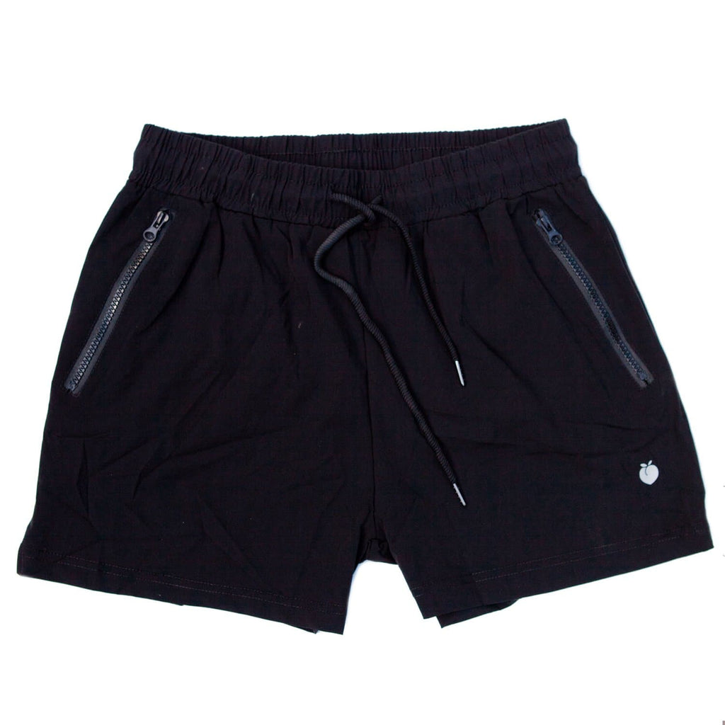Men's Black Active Shorts