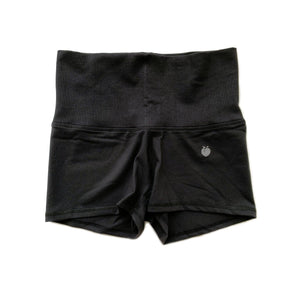 Women's Black Stride Shorts