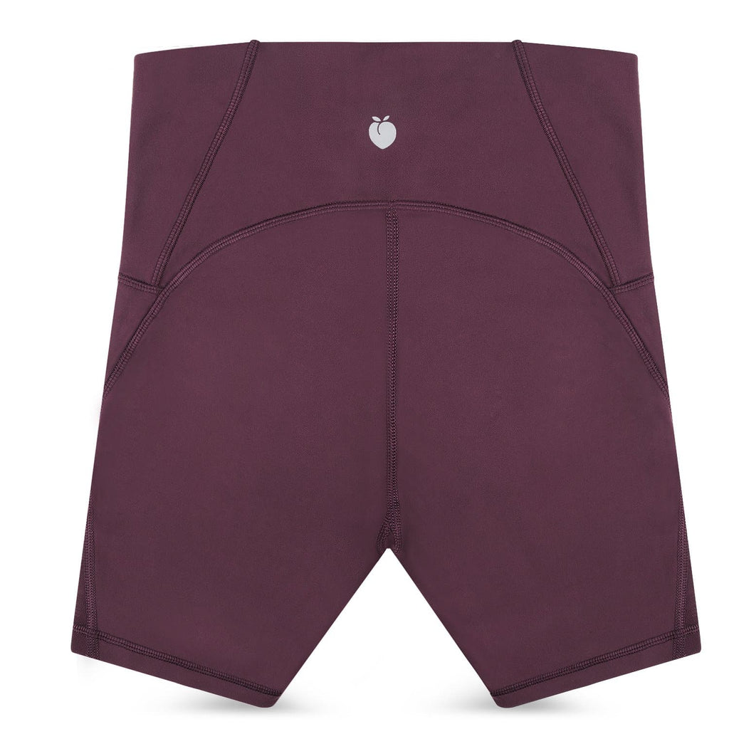 Women's Power Shorts - Dark Purple