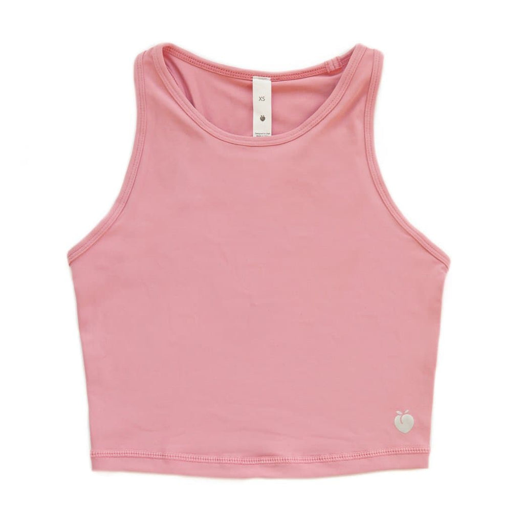 Racerback Crop Top - Rose
