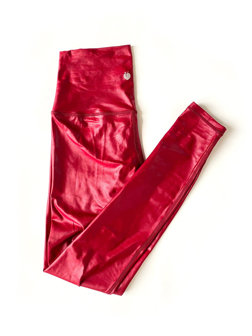 High Rise Flow Pant - Liquid Red