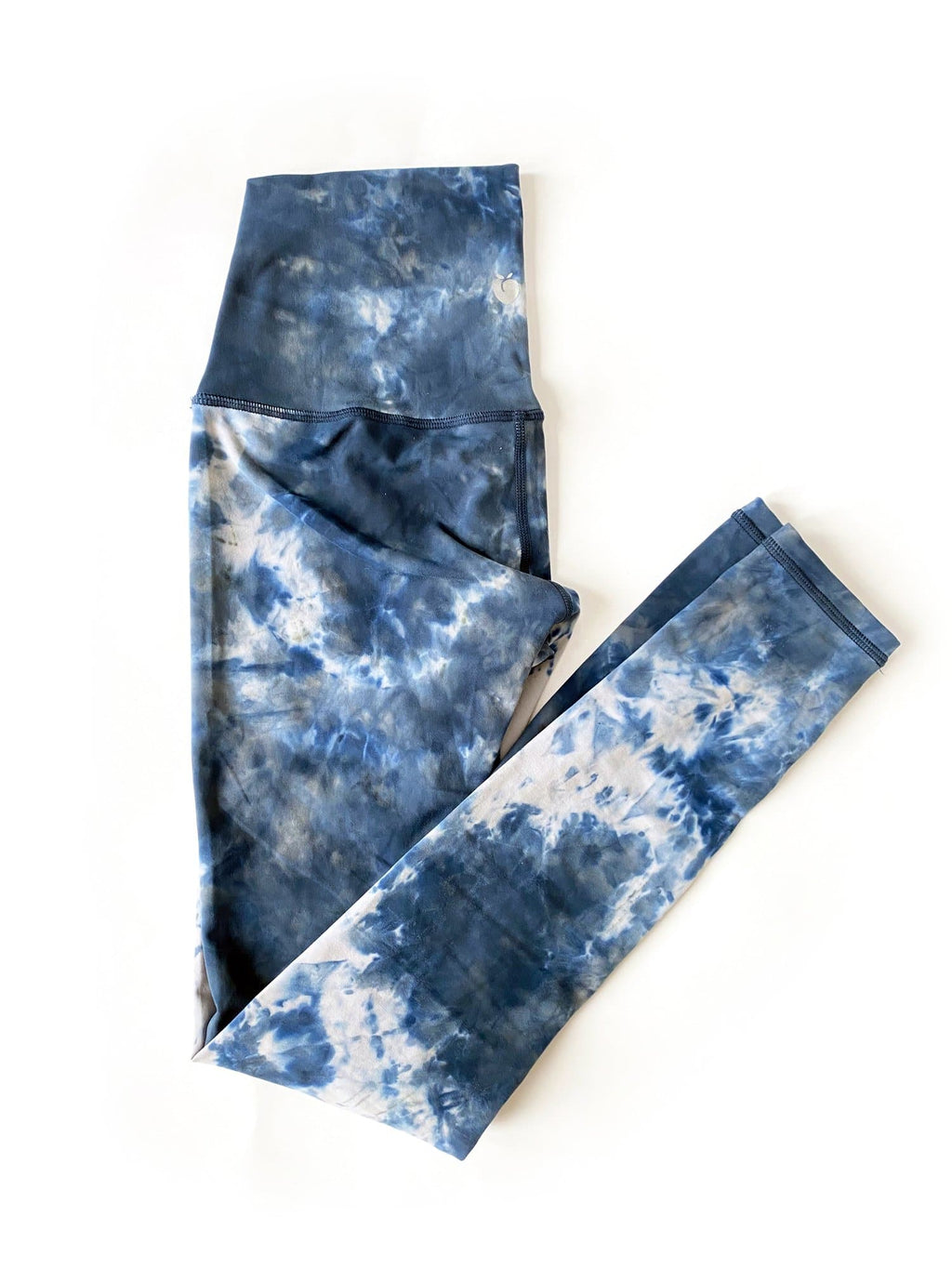 High Rise Flow Pant - Tie Dye Ocean Blue