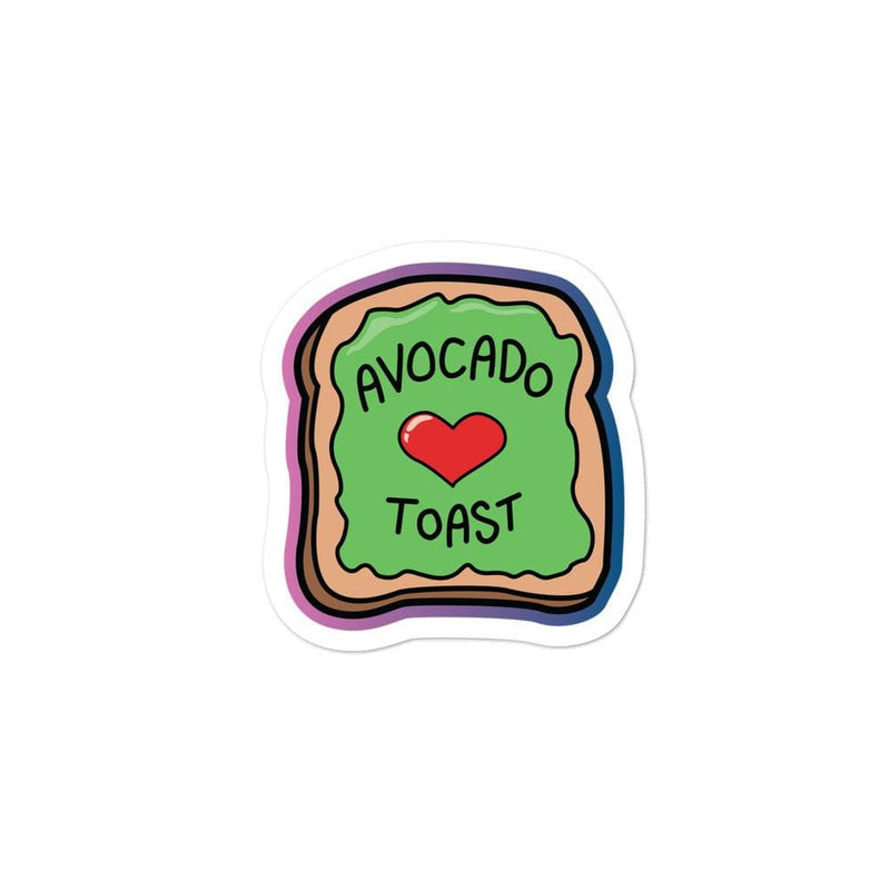 Avocado Toast Sticker