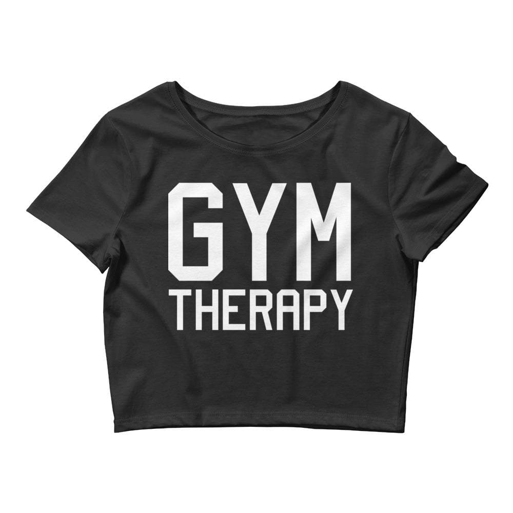 Gym Therapy Crop Tee