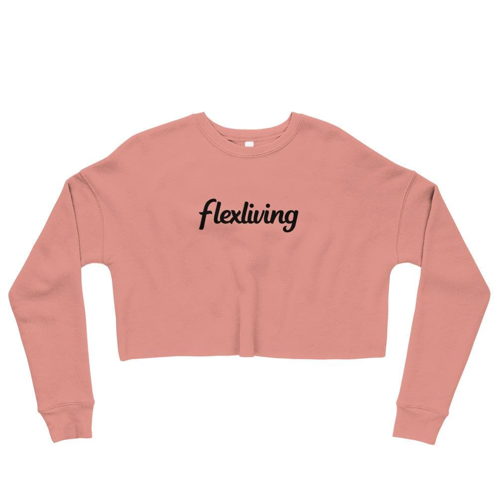Flexliving Logo Crop Sweatshirt