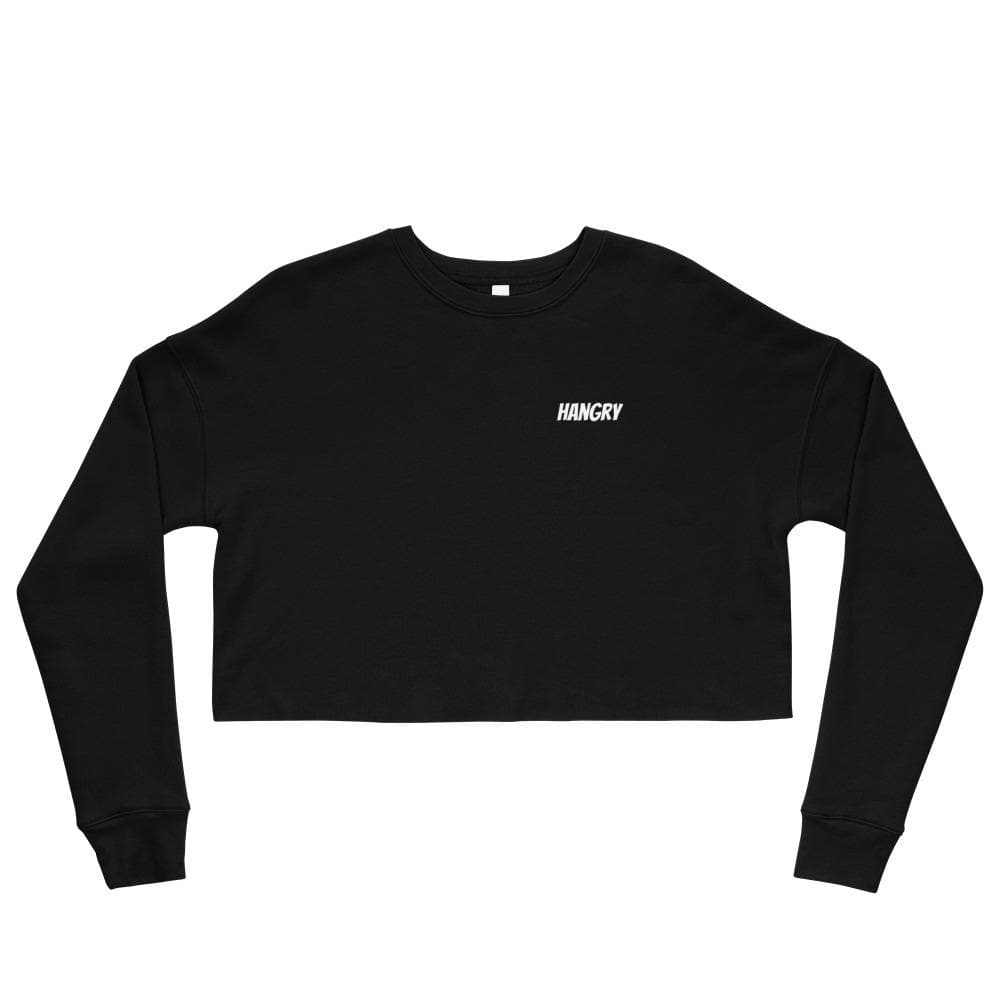 HANGRY Crop Sweatshirt