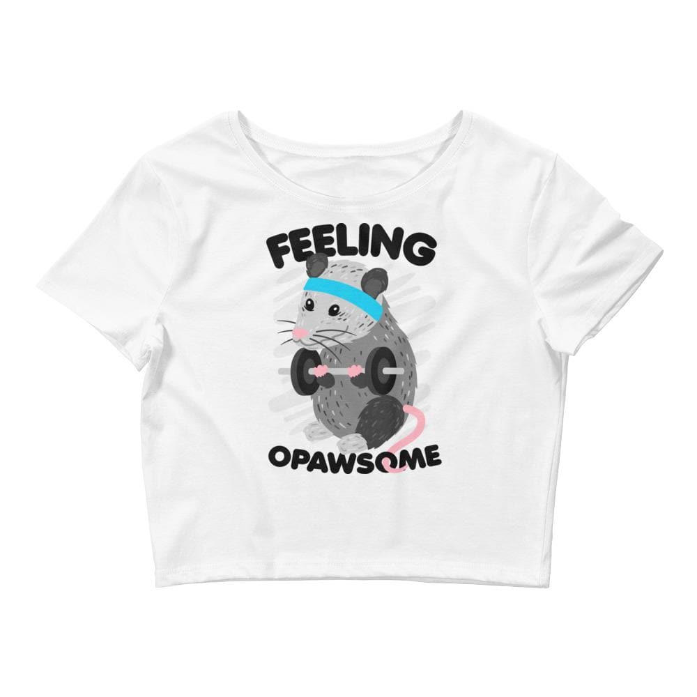 Feeling Opawsome Crop Tee